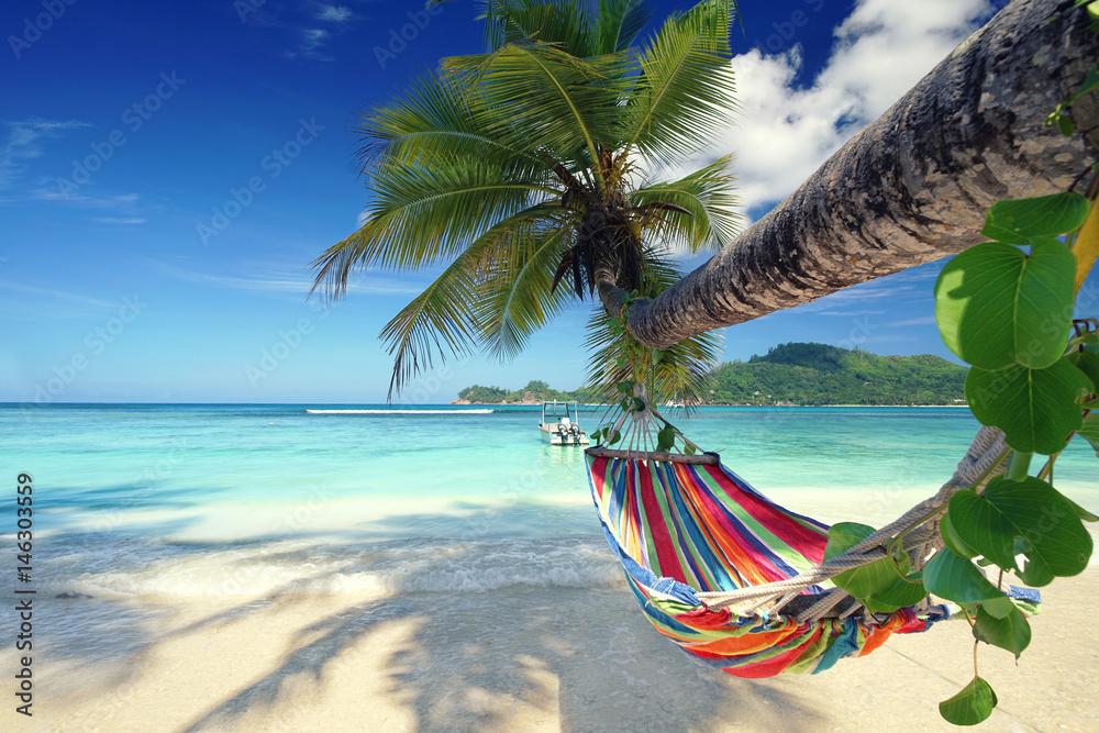 Fototapeta Ausruhen im Urlaub - Strandurlaub