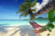 canvas print picture - Ausruhen im Urlaub - Strandurlaub