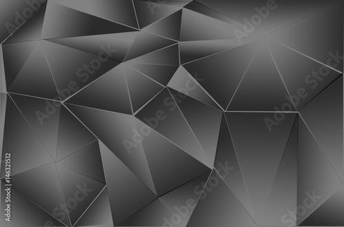 czarno-biale-wielokaty