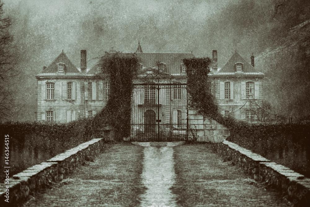 Fototapeta Manoir abadonné