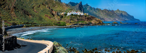 Fotografia  Küste von Benijo in Teneriffa,  Kanaren, Spanien