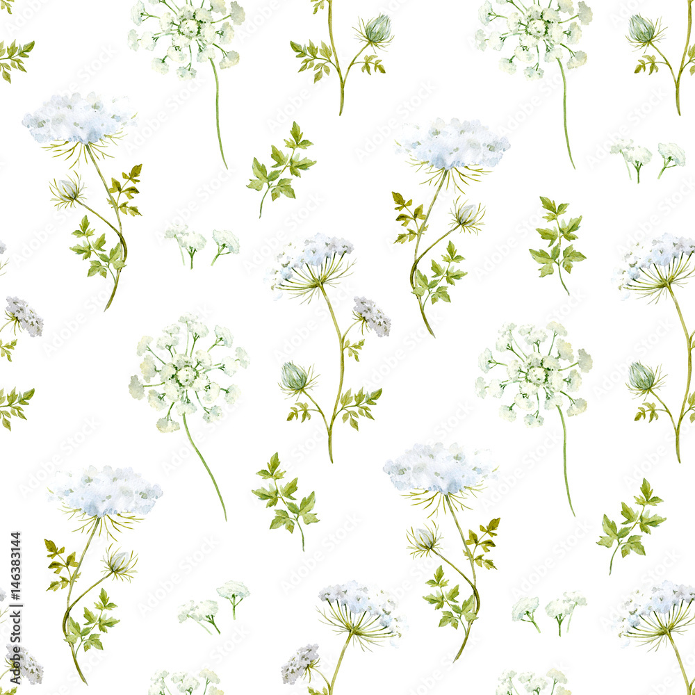 Akwarela kwiatowy wzór <span>plik: #146383144 | autor: zenina</span>