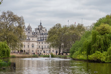Different Places Of St. James's Park In London