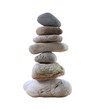 Balance Stones stacked to pyramid.