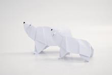 Polar Bear Origami With White ...