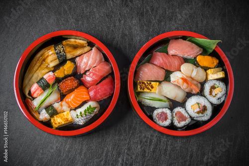 Recess Fitting Sushi bar 本格握り寿司 Japanese gourmet genuine finger sushi