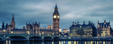 Fototapeta Londyn - Big Ben and House of Parliament at Night