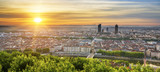 View of Lyon at sunrise - 146746347