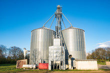 Metal Silo For Corn And Feed