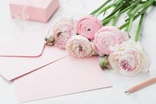 Envelope Or Letter, Paper Card...