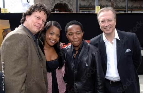 Tsotsi Director Hood Poses With Cast Members And Producer Ahead Of 78th Academy Awards