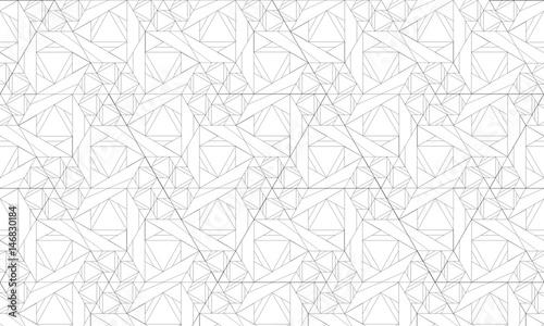 Valokuva  Assemblage de triangles