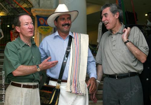 U S  Secretary of Commerce Gutierrez, U S  ambassador to