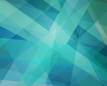 Abstract Classy Blue Green Bac...