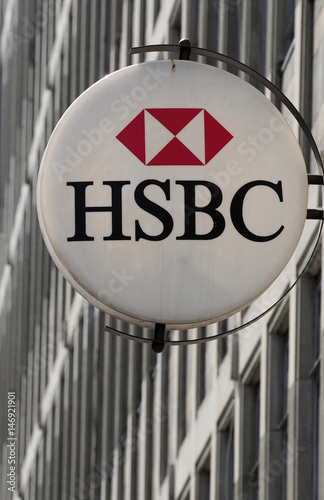 A branch of HSBC bank is seen in central London - Buy this stock