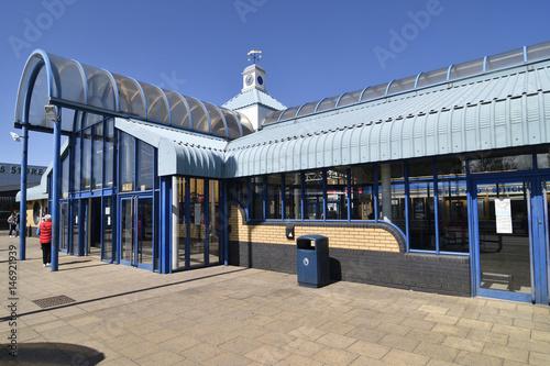 Foto op Canvas Stadion イギリスのニュータウン:グレンロセスのタウンセンター