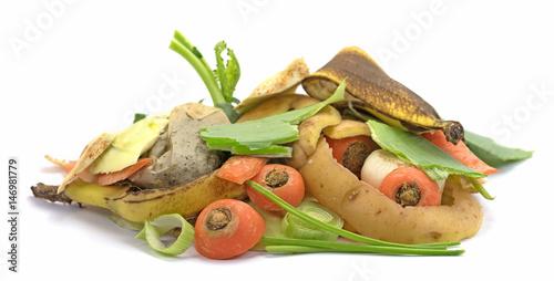 Fotografie, Obraz  Biomüll, Bioabfall, Küchenabfälle
