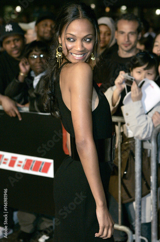 Actress Zoe Saldana arrives for a special screening of the