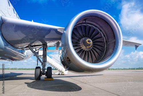 Fotografia, Obraz  jet engine