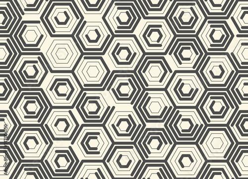 bez-szwu-monochromatyczny-wzor-szesciokata-wektorowy-chaotyczny-kreskowy-tlo