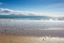 Sandy Beach At Newborough In A...