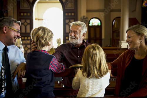 Fototapeta Church People Believe Faith Religious