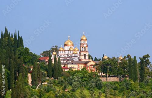 Photo New Athos,Abkhazia/Monastery of St. Simon the Canaanite