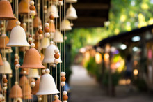 Hand Made Wind Chimes Hanging ...