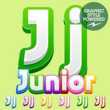 Vector Cute Children Alphabet ...