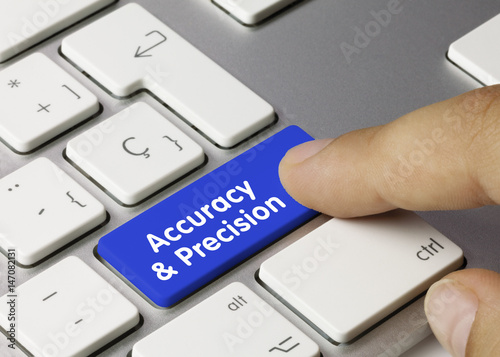 Accuracy and Precision Wallpaper Mural