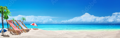 Summer beach vacation
