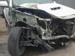 The scene of a car crash , car accident.