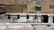 canvas print picture - Ostia Antica
