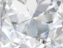 Realistic Diamond Texture Clos...