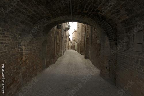 Papiers peints Tunnel Castignano, Ascoli Piceno, Marche, Italia