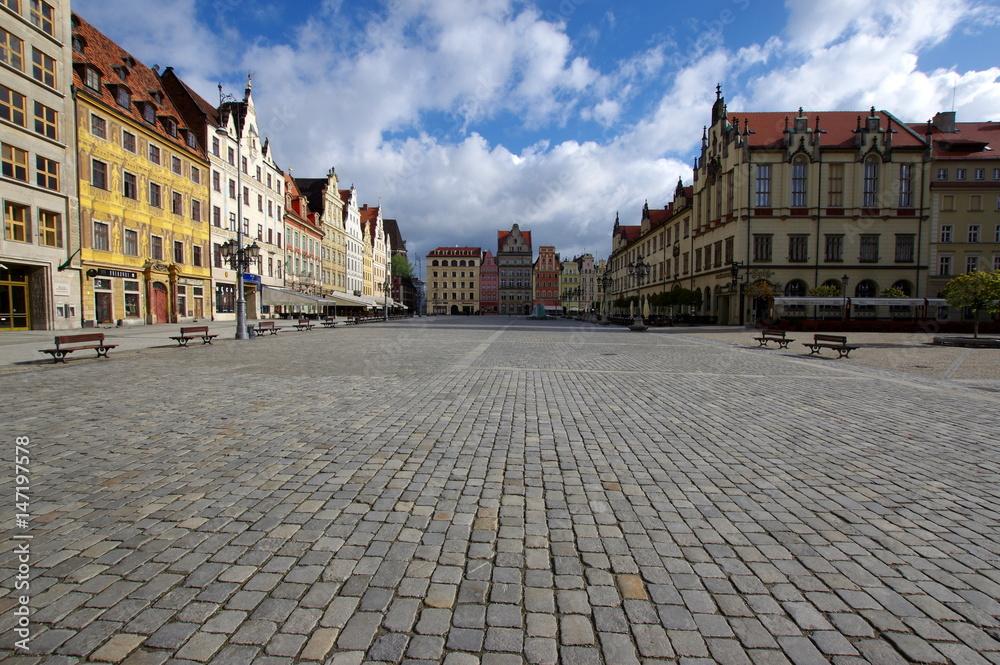 Fototapeta Wrocławski rynek - obraz na płótnie