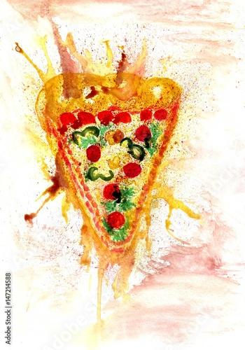 Tasty Pizza Art