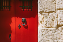 Traditional Maltese Door With ...