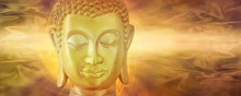 Golden Buddha In Deep Contempl...