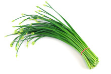 Fresh Chive Flower In A Bunch ...