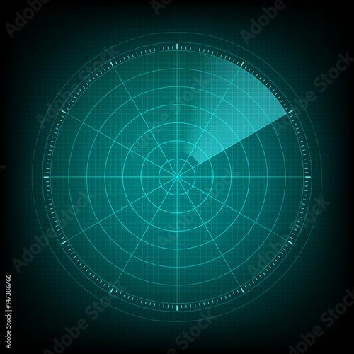 Fotomural  Radar interface future