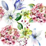 Decorative wild flowers - 147430393