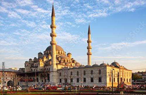 Obraz na dibondzie (fotoboard) Yeni Cami meczet w Istanbuł, Turcja