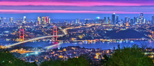 Panoramic View Of Istanbul Wit...