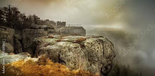 Fototapeta Mgła na Szczelińcu Wielkim obraz