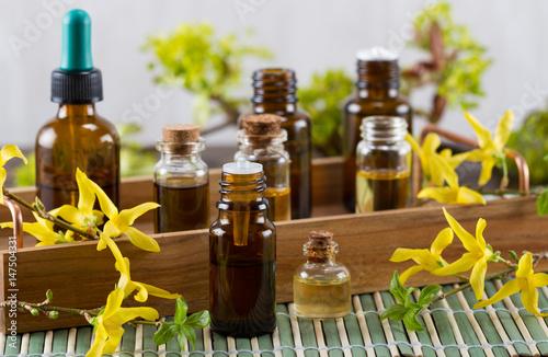Fototapeta Essential oil for aromatherapy obraz
