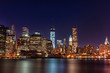 NYC at Night. Long Exposure. New york. USA