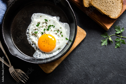 Poster Gebakken Eieren Fried egg