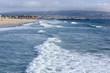 ocean wave at Santa Monica beach