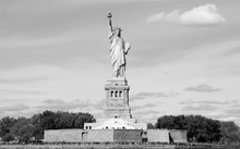 Statue Of Liberty, In New York City, NY, On October 27, 2013. The Statue Of Liberty Was A Gift From People Of France To The United States In 1886.